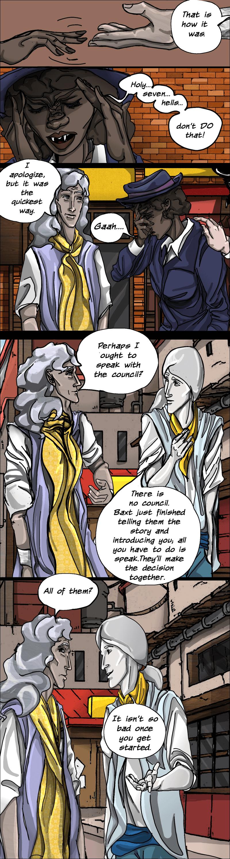 Commander Yma's Explanation